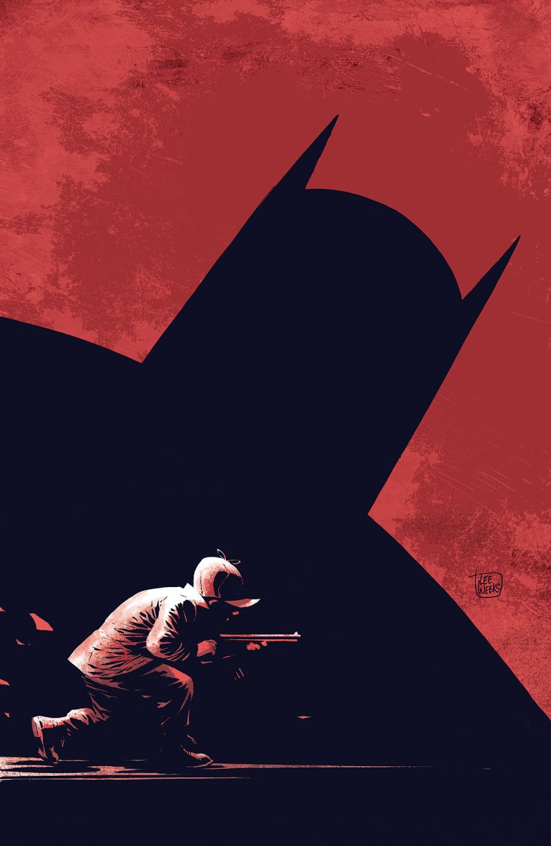 Batman is taking on Elmer Fudd